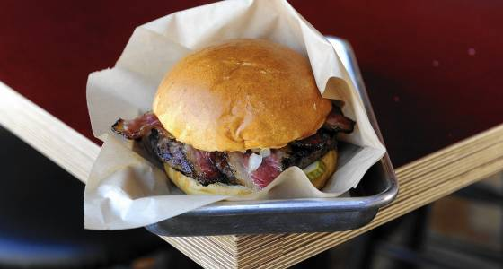 Clark Burger opening in former Tortilleria Sinaloa space on Central Avenue