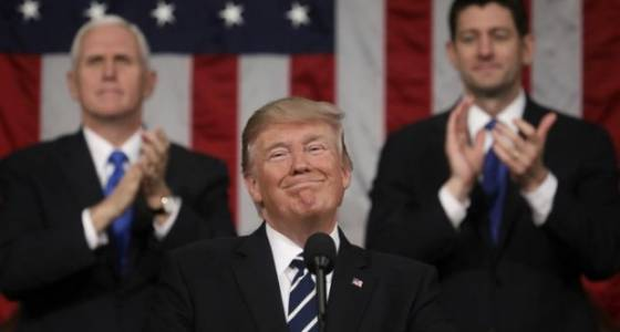 Congress members respond to Donald Trump's speech