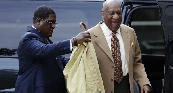 Cosby is in court to ask judge for outside jury for trial