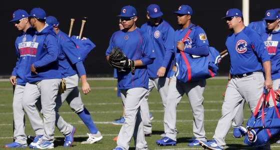 Cubs, Indians meet for Game 8