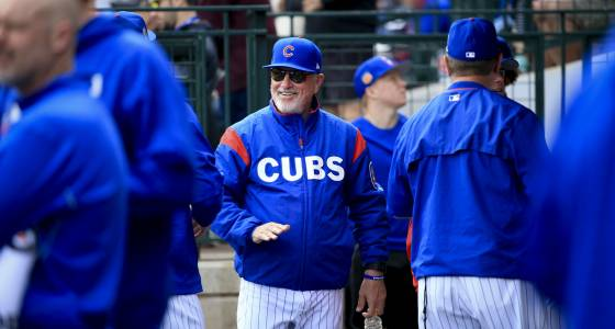 Cubs manager Joe Maddon careful not to get in his coaches' way