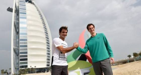 Daily Deuce: Roger Federer, Andy Murray show a different side in Dubai