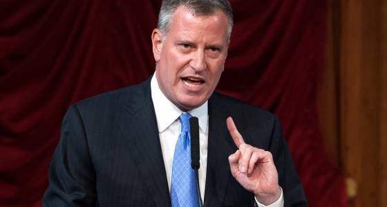 De Blasio's quest for national respect hits another roadblock