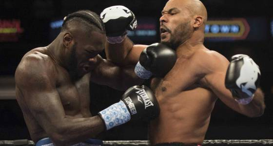 Deontay Wilder retains WBC heavyweight title with fifth-round knockout