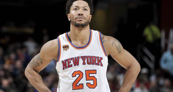 Derrick Rose wants to be a Knick for a long time: agent