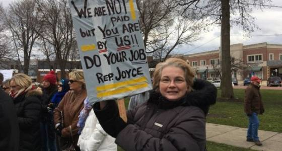 "District 14 ""town hall"" misses Rep. David Joyce"