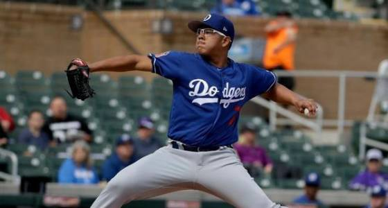 Dodgers pitcher Julio Urias' first spring training appearance is brief, but effective