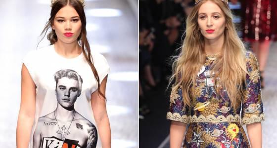 Dolce & Gabbana's Milan show was a party for millennials