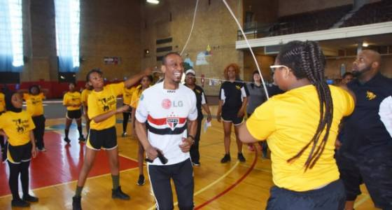 Double Dutch to football at Jersey City's Spring Sports Expo for kids