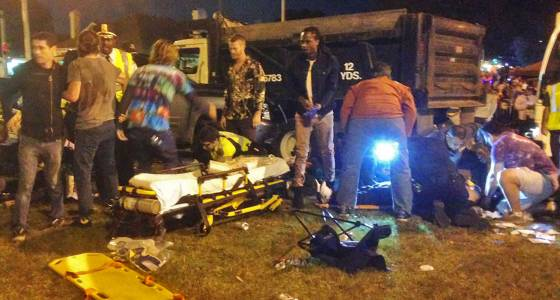 Dozens hurt after vehicle plows into crowd at New Orleans parade