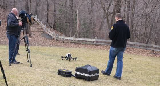 Drone used in Troy search for missing man in Poesten Kill