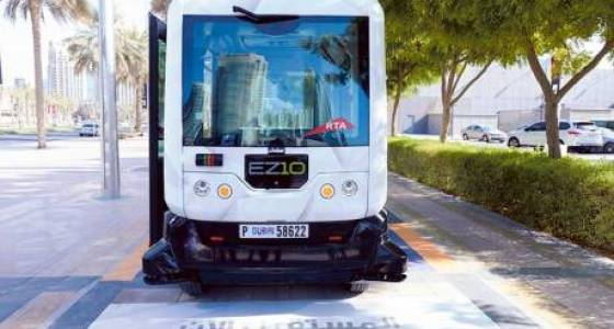 Dubai gears up to launch driverless, smart transport in new roadmap