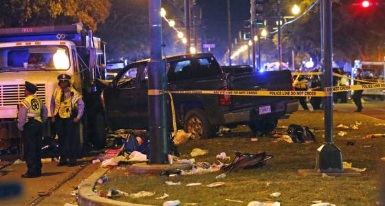 DUI suspected in crash that hospitalized 21 at New Orleans parade