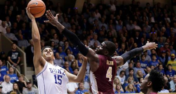 Duke's Frank Jackson shows potential with Grayson Allen hobbled