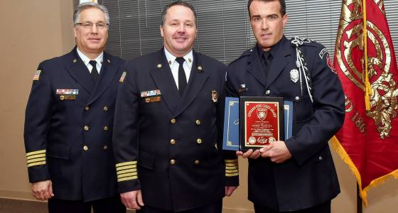 Elgin fire department honors own, residents