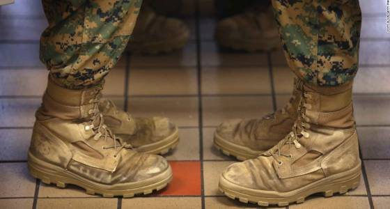 Female Marine veteran 'disgusted' to see photos online