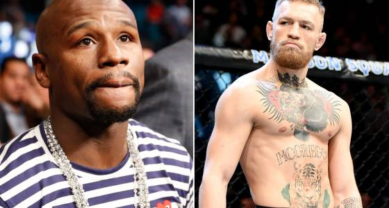 Floyd Mayweather amps up McGregor rumors: Let's do it