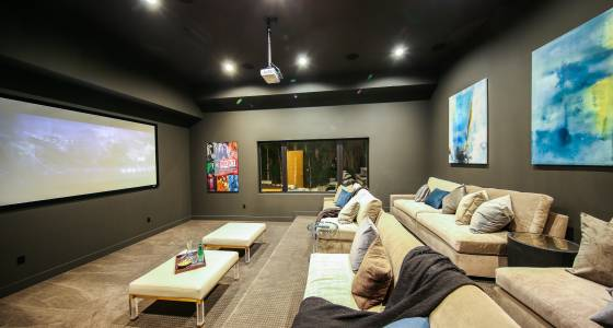 For your consideration: Luxury home screening rooms