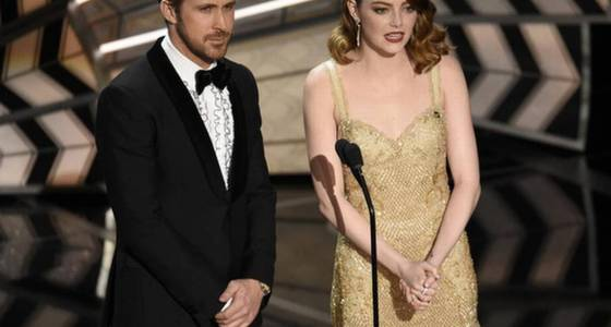 Forget politics, the big moment at the Oscars was the best picture that almost wasn't