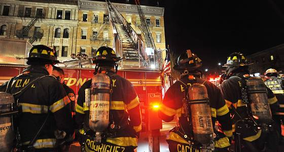 Four-alarm blaze rips through two Upper West Side buildings