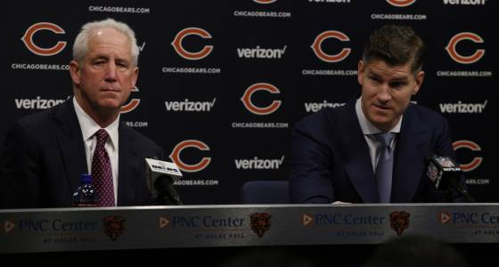 Four things we learned from Ryan Pace, John Fox at NFL scouting combine
