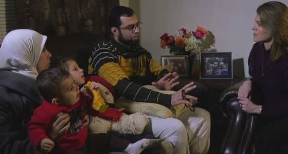 four-year-old Syrian girl reunites with family members in US just after months apart