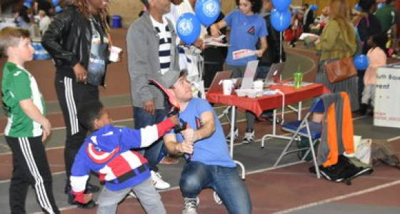 Fun and games at Jersey City Spring Sports Expo (PHOTOS)