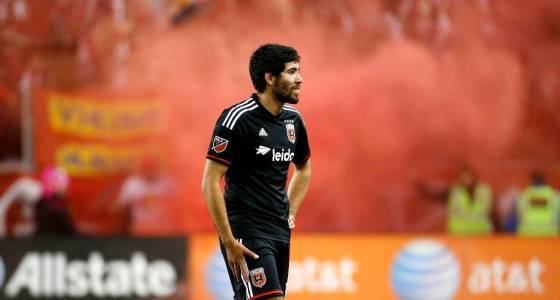 Galaxy's Aguilar unsure of his place on the team — and in the country
