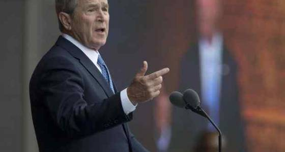 George W. Bush on press and presidency: 'Power can be very addictive, and it can be corrosive'