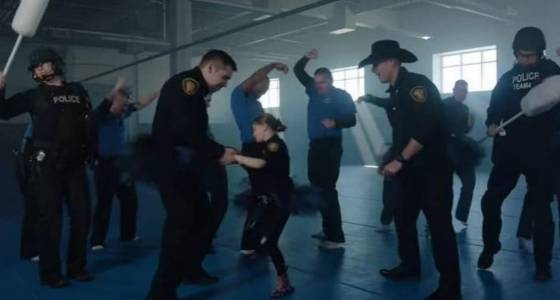 Get swabbed: Officers 'Shake it Off' in music video for bone marrow foundation