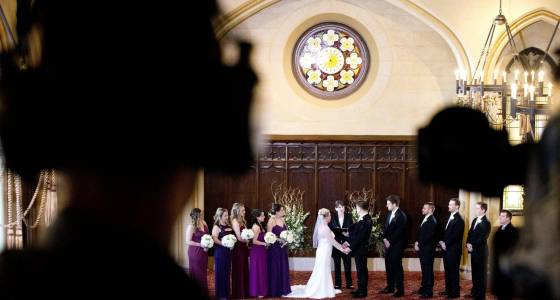 Glyndon couple, with just a week to prepare, ties the knot on live TV