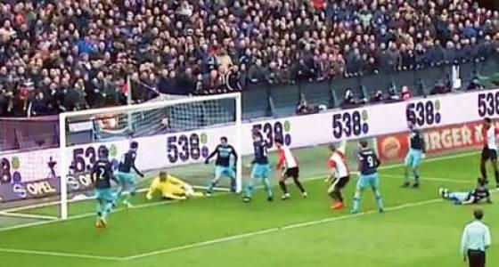 Goal-line technology zips PSV's title hopes