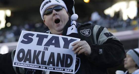 Group submits plans to keep Raiders in Oakland