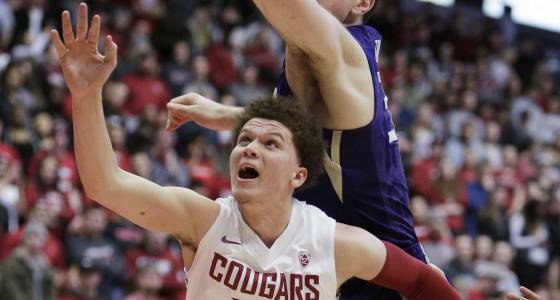 Hawkinson leads Washington State past Washington 79-71