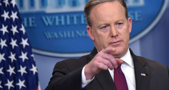 How Spicer tried to get reports of Russia talks shot down
