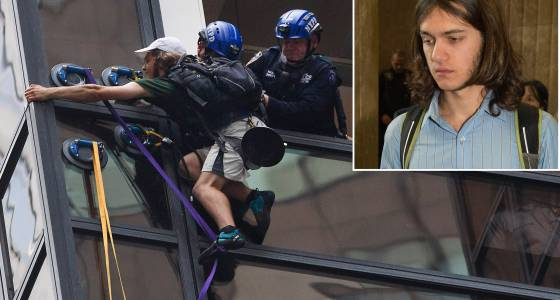 Human fly takes plea deal for climbing Trump Tower