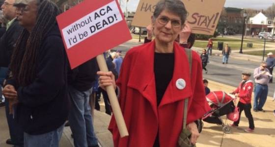 Hundreds rally in Hackensack against ACA repeal