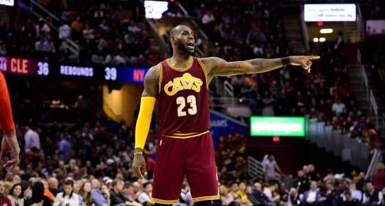 Illness forces LeBron James out of Bulls-Cavaliers game