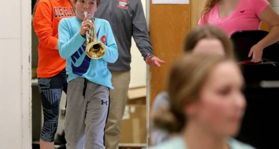 In Cleveland, Minn., pop. 715, dynamic band director builds powerhouse