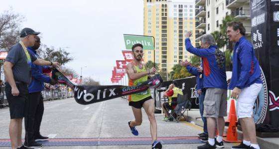 In his final race, Lake Wales coach Richmond captures Gasparilla 15K for second time