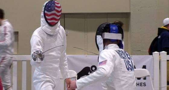 In the modern pentathlon, you never know what you're going to get