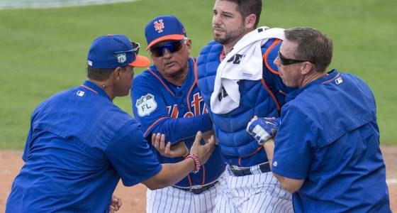 Injuries not the way the Mets wanted to start spring training