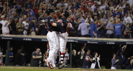 Instant memories for Cubs, Rajai Davis in exhibition opener
