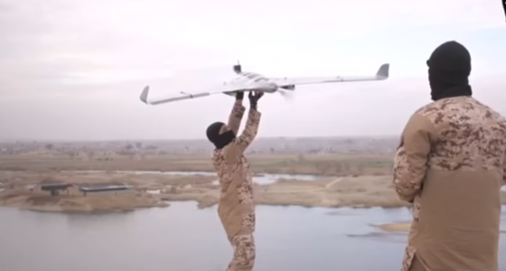 ISIS drones capture shocking new view of terror attacks
