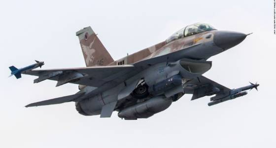 Israeli jets strike inside Syria; military site near Palmyra reportedly targeted
