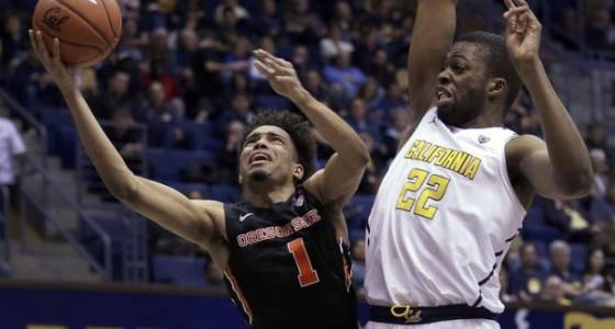 Ivan Rabb helps California beat Oregon State Beavers 76-46