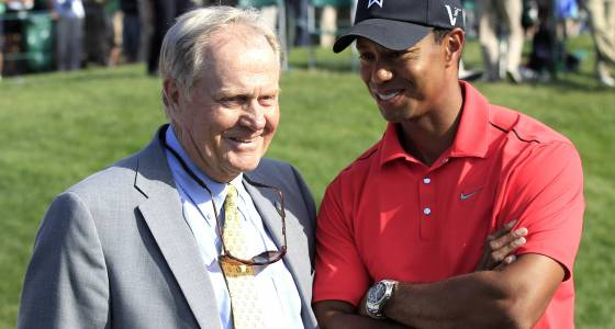 Jack Nicklaus just can't figure out Tiger Woods' problem