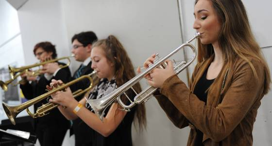 Jazz rocked the roof Saturday at Rolling Meadows High School