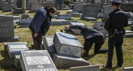 Jewish cemetery in Philadelphia target of vandalism