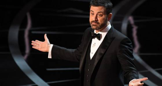 Jimmy Kimmel gets political in his opening Oscars monologue